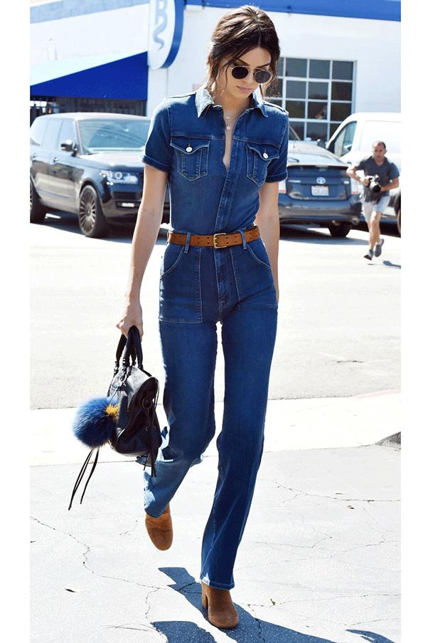 <strong>DONE IN DENIM </strong><br><br> Kendall Jenner