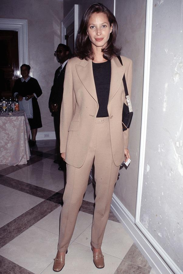 <strong>COOL CAMEL </strong><br><br> Christy Turlington