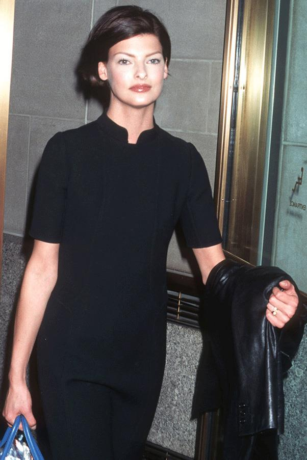 <strong>BACK IN BLACK</strong><br><br> Linda Evangelista
