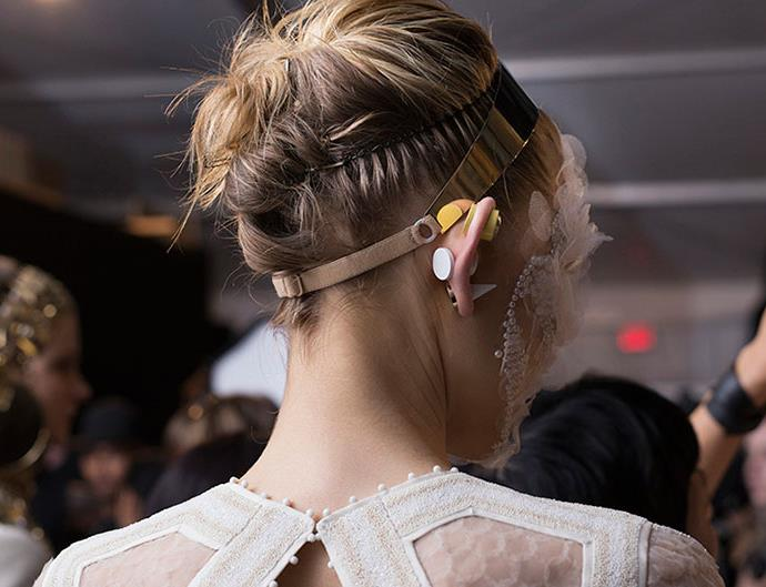 The runway hairstyles sure to get you daydreaming of bouquets and honeymoons.