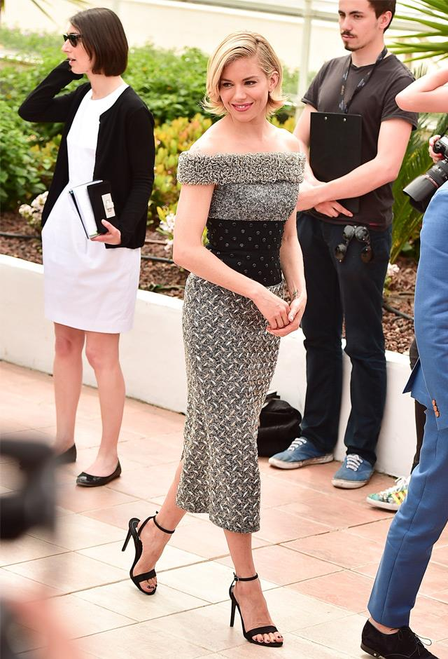In Balenciaga at the 68th Annual Cannes Film Festival, 2015.