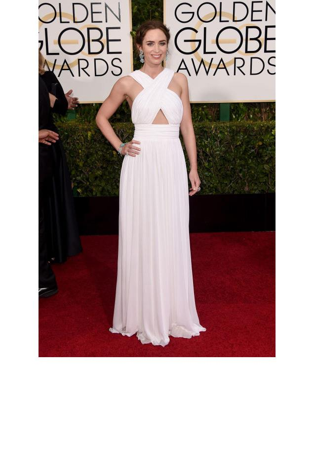 <strong>Emily Blunt, 2015</strong> <br><br> In Michael Kors.