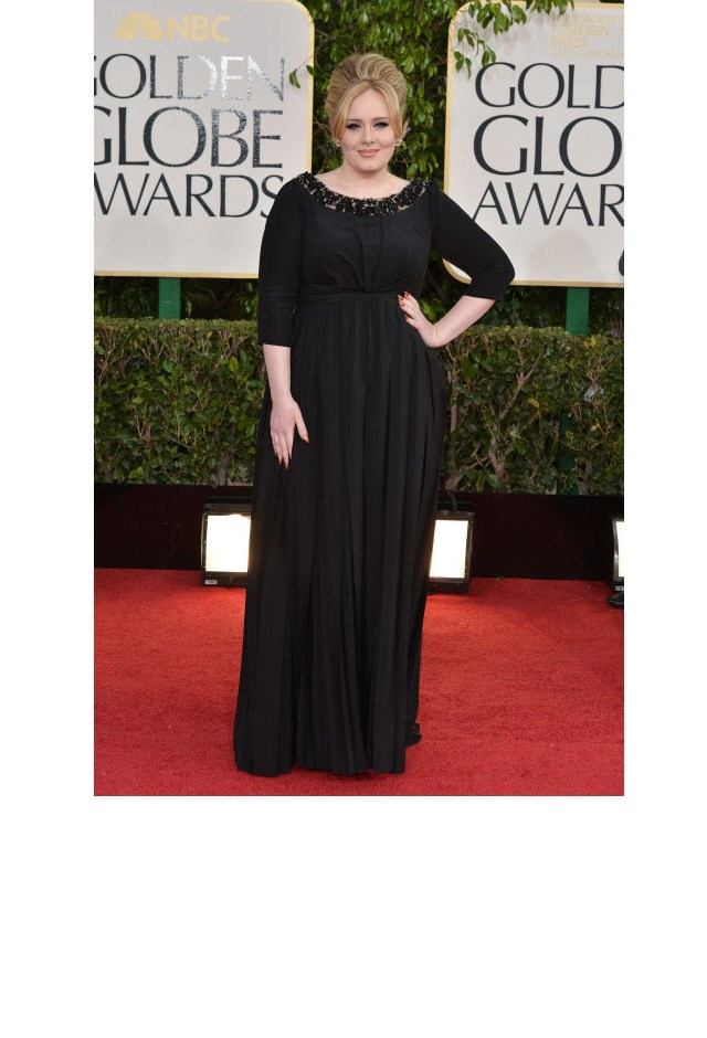 <strong>Adele, 2013</strong> <br><br> In Burberry.