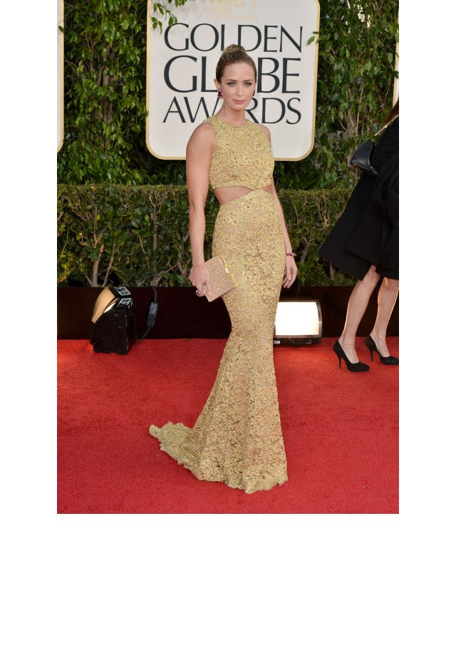 <strong>Emily Blunt, 2013</strong> <br><br> In Michael Kors.