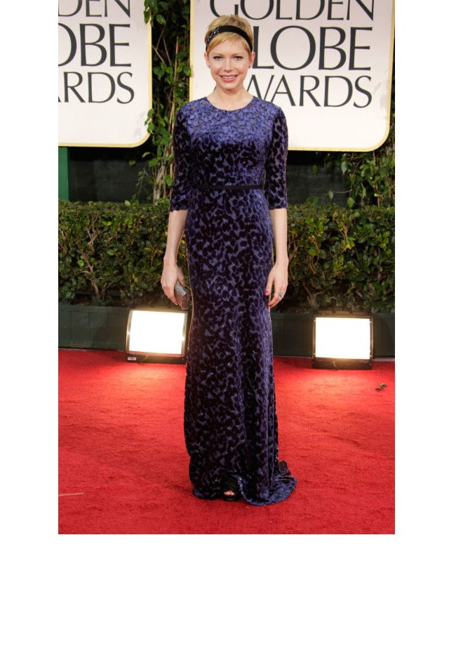 <strong>Michelle Williams, 2012</strong> <br><br> In Jason Wu.