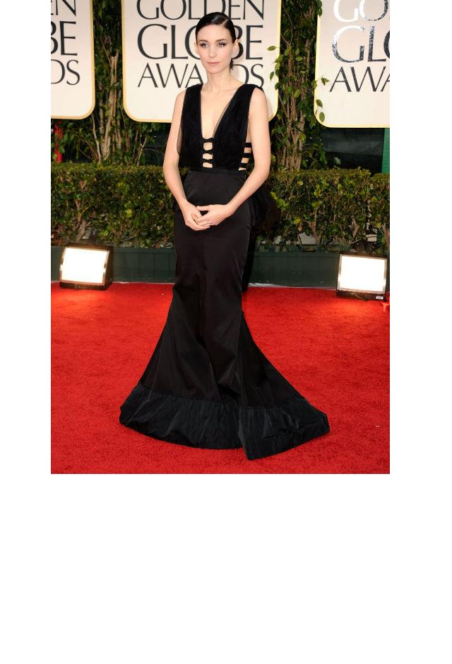 <strong>Rooney Mara, 2012</strong> <br><br> In Givenchy.