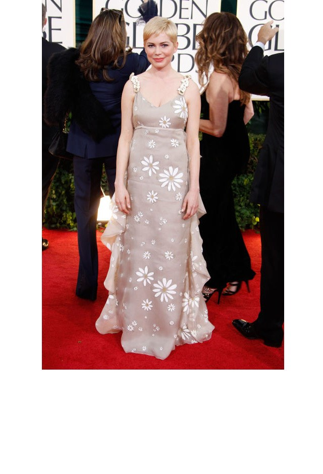 <strong>Michelle Williams, 2011</strong> <br><br> In Valentino.