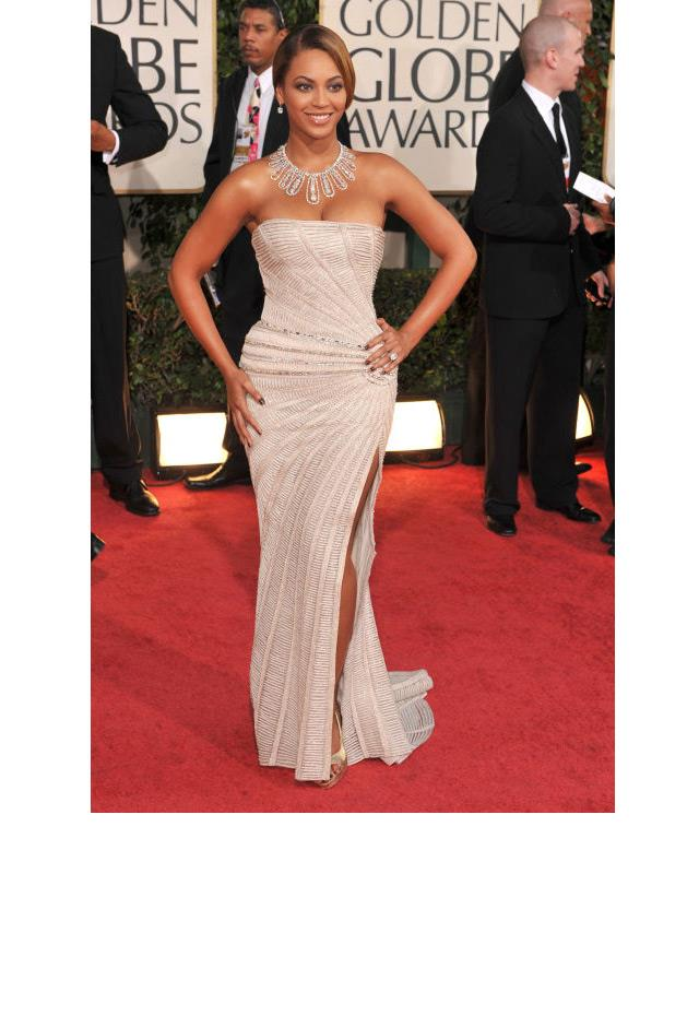 <strong>Beyoncé Knowles, 2009</strong> <br><br> In Reem Acra.
