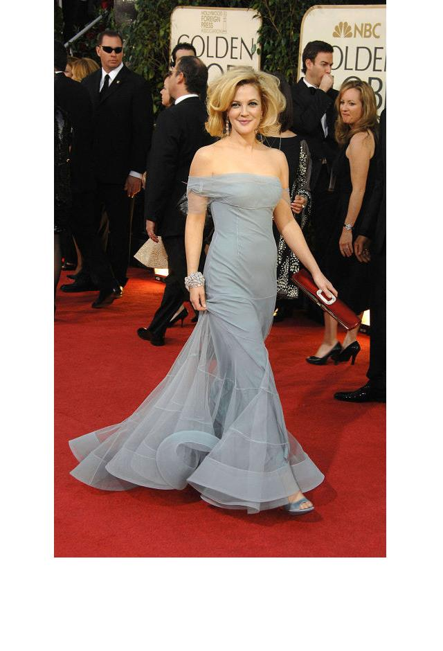 <strong>Drew Barrymore, 2009</strong> <br><br> In John Galliano.