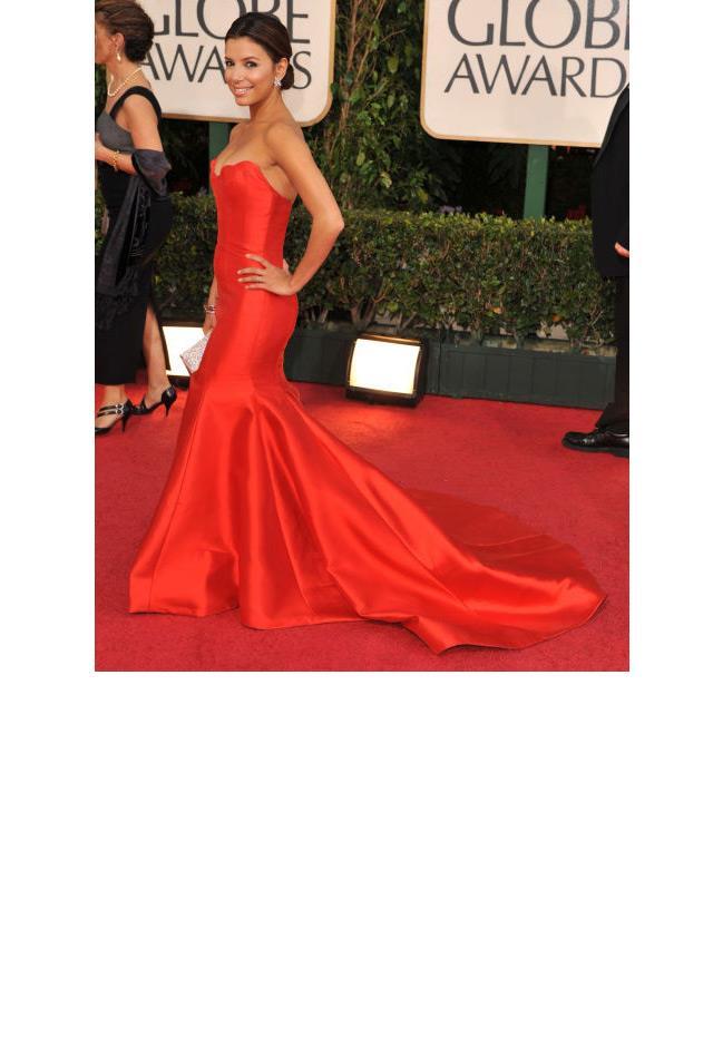 <strong>Eva Longoria, 2009<strong> <br><br> In Reem Acra.