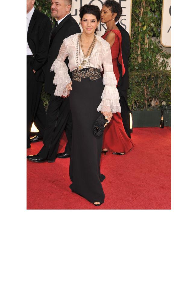 <strong>Marisa Tomei, 2009</strong> <br><br> In Oscar de la Renta.