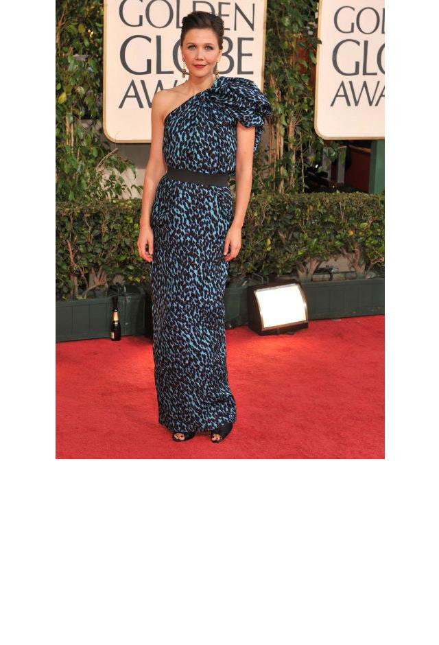<strong>Maggie Gyllenhaal, 2009</strong> <br><br> In Lanvin.