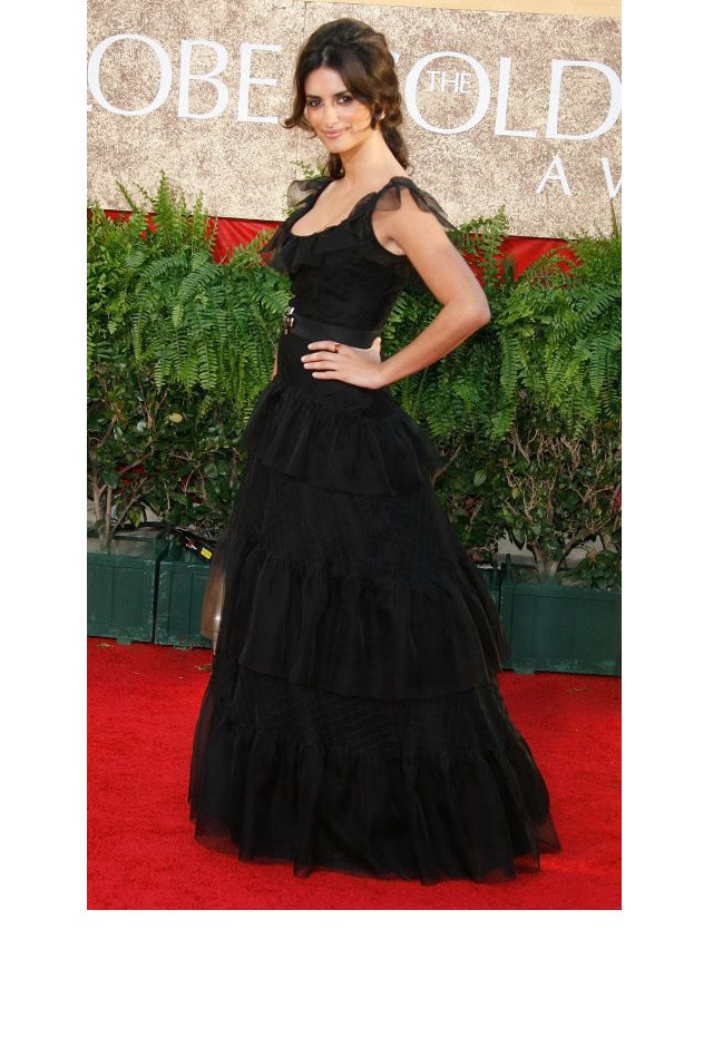 <strong>Penélope Cruz, 2007</strong> <br><br> In Chanel Couture.
