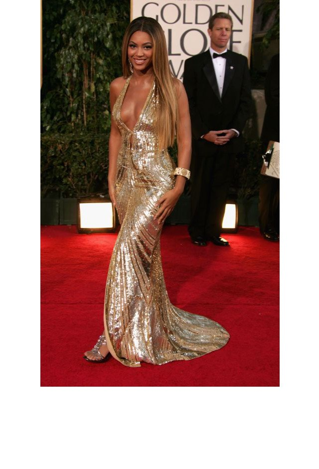 <strong>Beyoncé Knowles, 2007</strong> <br><br> In Elie Saab.