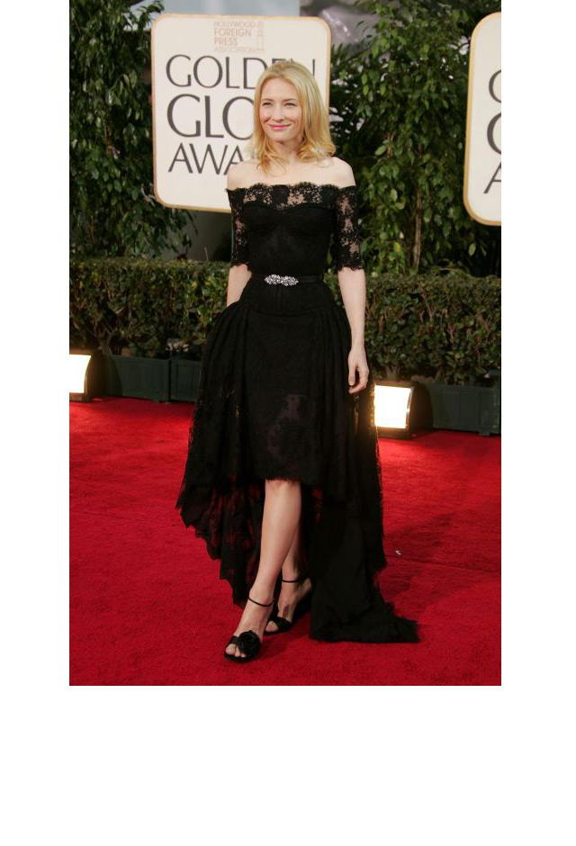 <strong>Cate Blanchett, 2007</strong> <br><br> In Alexander McQueen.