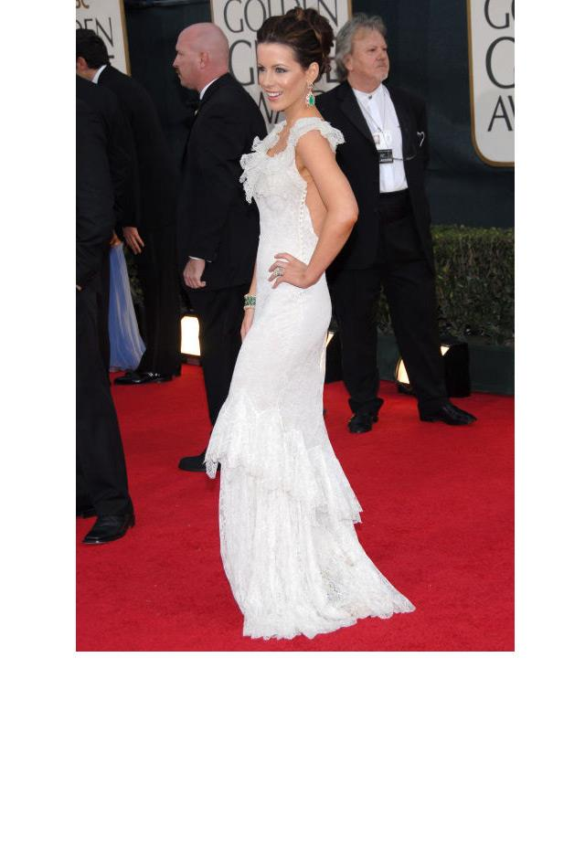 <strong>Kate Beckinsale, 2006</strong> <br><br> In Christian Dior.