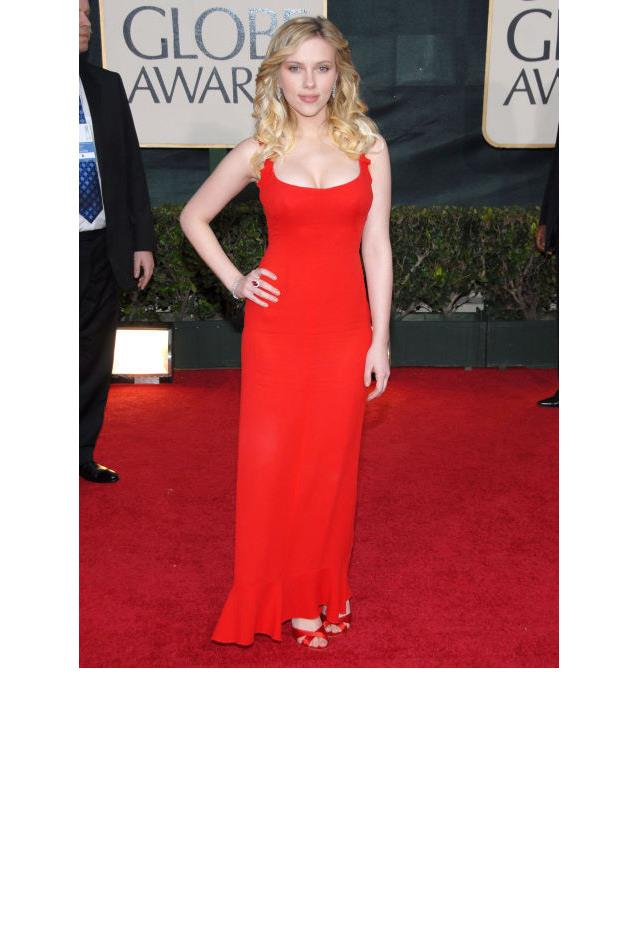 <strong>Scarlett Johansson, 2006</strong> <br><br> In Valentino.