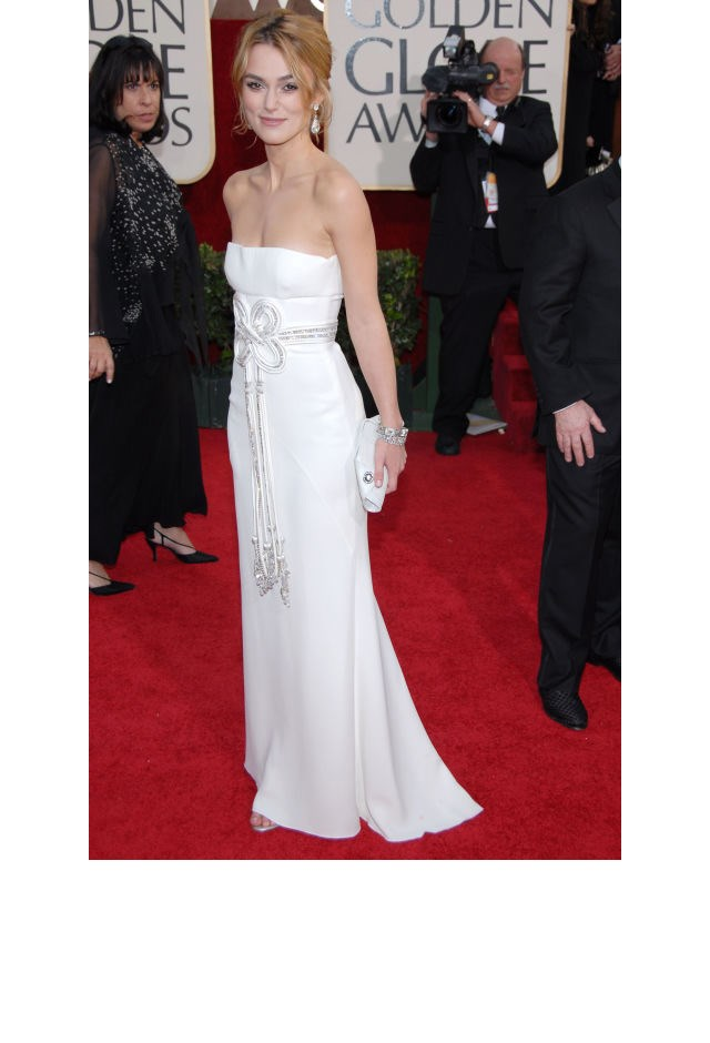 <strong>Keira Knightley, 2006</strong> <br><br> In Valentino.
