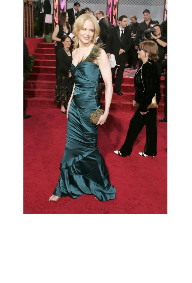 <strong>Nicole Kidman, 2005</strong> <br><br> In Gucci.