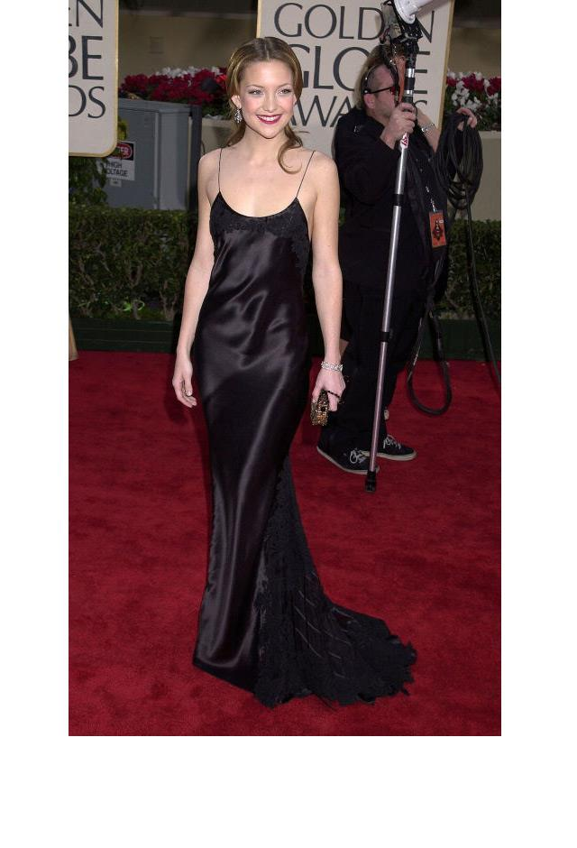 <strong>Kate Hudson, 2001</strong> <br><br> In Vera Wang.