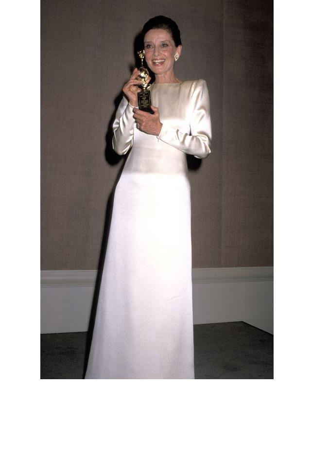 <strong>Audrey Hepburn, 1990</strong>