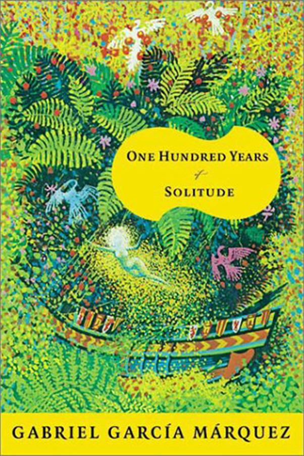 <strong>One Hundred Years of Solitude by Gabriel García Márquez</strong><br><br> Columbian writer Márquez's sprawling, multi-generational family drama is set in the fictionalised town of Mocando, and traces three generations of the Buendía family.