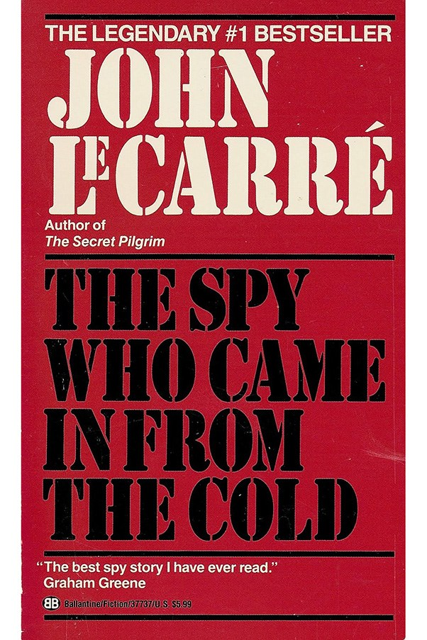 <strong>The Spy Who Came in from the Cold by John le Carré</strong><br><br> Considered the greatest work of its genre, le Carré's espionage novel is set in the early years of the cold war, focusing on East Germany during the completion of the Berlin Wall.
