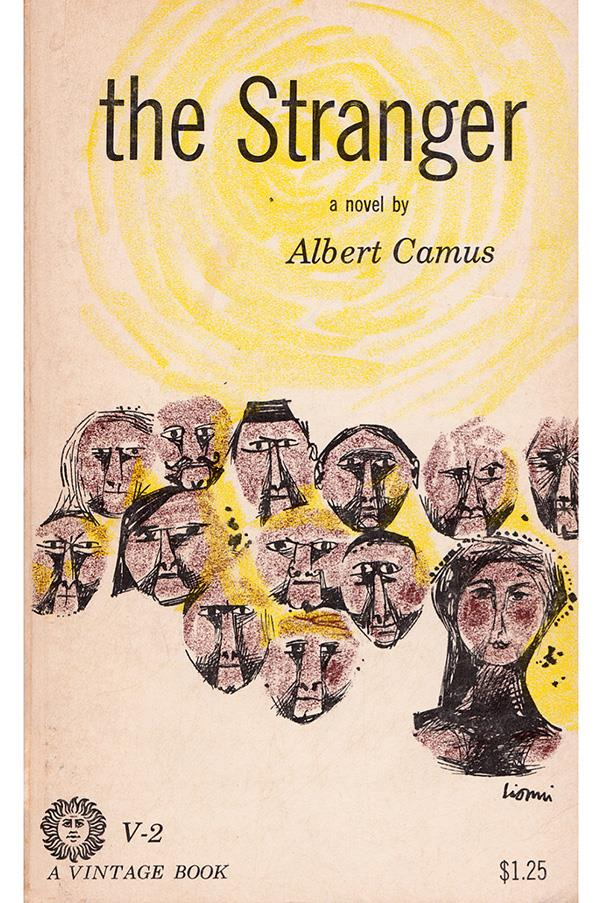 <strong>The Stranger by Albert Camus</strong><br><br> A man leaves his mother's funeral then travels to a beach where he, for no apparent reason, kills an Arab man. Thus is the ever-parodied setting of Camus' definitive absurdist novel.