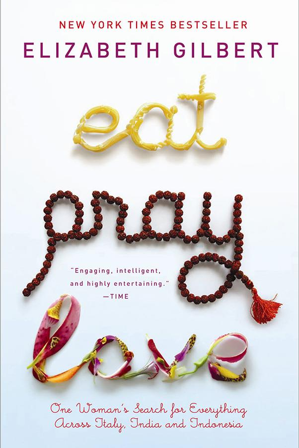 <strong>Eat Pray Love by Elizabeth Gilbert</strong><br><br> Elizabeth Gilbert's memoir of self-discovery as she eats herself into a food coma in Italy, meditates at an Indian ashram, and falls in love in Bali, all over the course of a single year, is a multi-million seller for good reason.