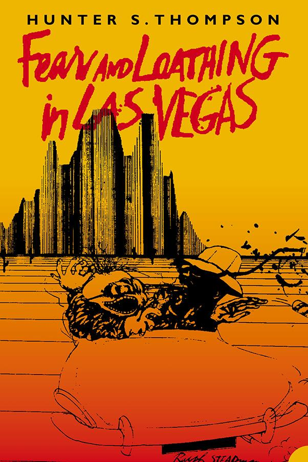 <strong>Fear and Loathing in Las Vegas by Hunter S. Thompson</strong><br><br> Thompson's semi-autobiographical, lucid novel birthed the term 'gonzo journalism' for it's part real-life, part imagined style. Fun fact: it was first written as a story for <em>Rolling Stone</em> magazine.