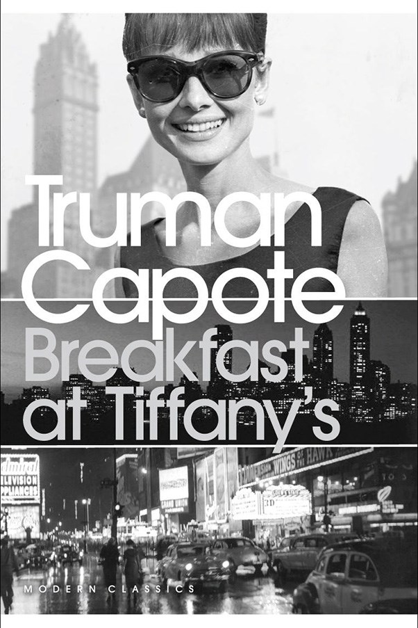 <strong>Breakfast at Tiffany's by Truman Capote</strong><br><br> Holly Golightly (immortalised by Audrey Hepburn, ICYMI) is a New York city socialite who is scheming for a rich husband, while she slowly realises she's falling in love with the flailing writer who lives next door.