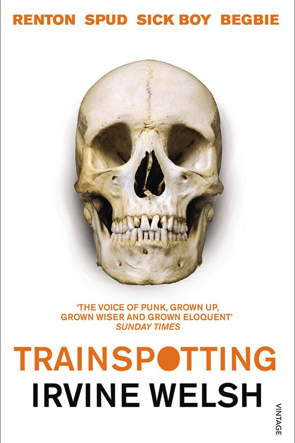<strong>Trainspotting by Irvine Welsh</strong><br><br> Irvine Welsh chronicles a group of heroin-addicted friends in the working class suburb of Leith, Edinburgh, as told through seven funny, dark, raw stories.