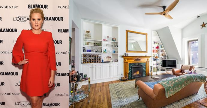 Amy Schumer basically has the ultimate cool girl New York apartment.
