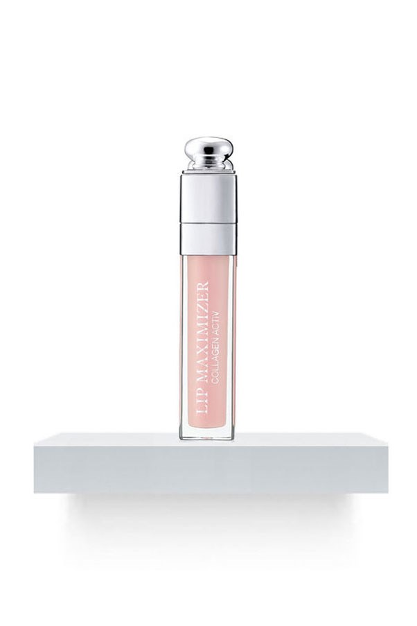 "<strong>Big Kiss</strong> <br><br> Less painful than Juvederm, more foolproof than overlining and safer than the Kylie Jenner Lip Challenge, this treatment boosts volume instantly and restructures in the long term - a result of its unique blend of hyaluronic and marine-based fillers. <strong>Dior</strong> Addict Lip Maximizer Collagen Active Lip-Gloss, $49, <a href=""http://www.myer.com.au/shop/mystore/addict-lip-maximizer-collagen-active-lip-gloss-602466460"">myer.com.au.</a>"