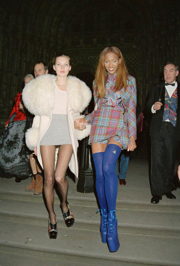 At London fashion week in 1993.