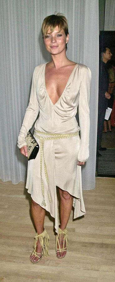 At a party for Mario Testino, 2001.