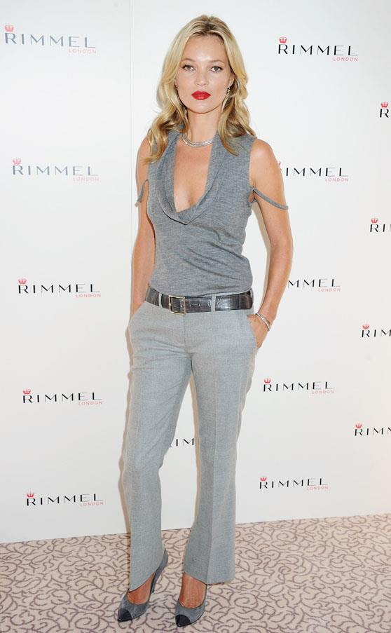 At the launch of her lipstick range for Rimmel in 2011.