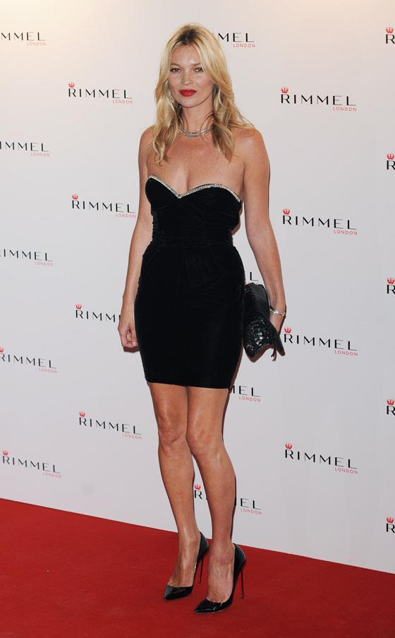 At Battersea Power Station celebrating her 10 Year Partnership with Rimmel in 2011.