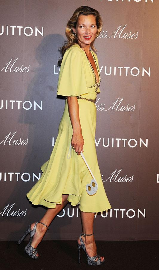 At the Louis Vuitton 'Timeless Muses' exhibition in 2013.