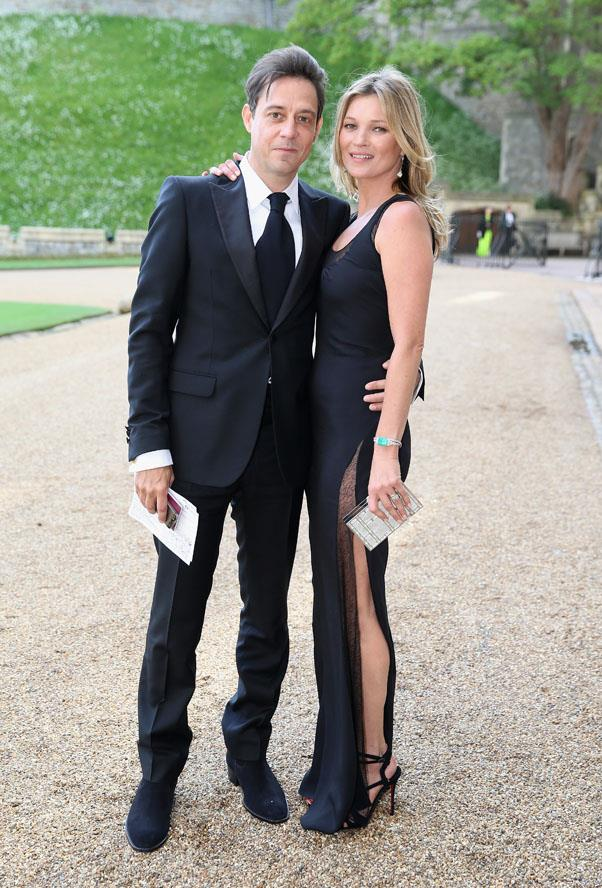 With husband Jamie Hince at Windsor Castle in 2014.