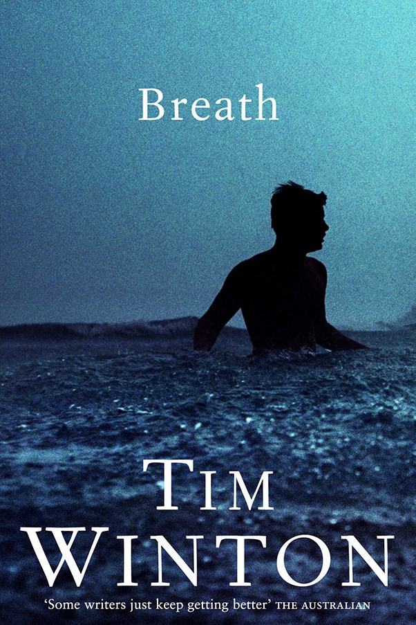 <strong>Breath by Tim Winton</strong><br><br> Set in Angelus, the fictional West Australian coastal town, this surfing drama follows the friendship of two young boys whose efforts to out-do each other are only exacerbated when an ex-professional surfer encourages them to perform increasingly dangerous dares.
