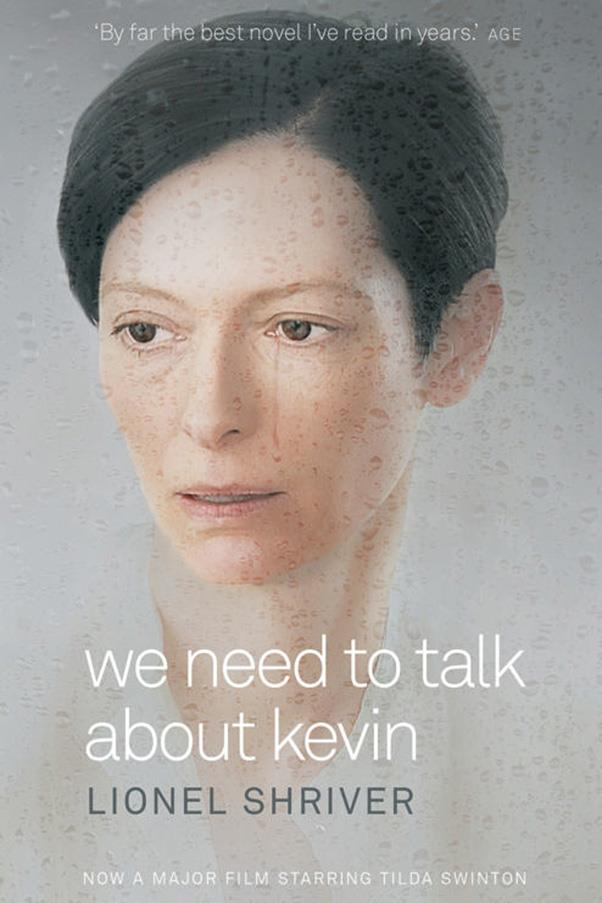 <strong>We Need to Talk About Kevin by Lionel Shriver</strong><br><br> In a series of letters to her estranged husband the mother of a high school shooter tries to figure out where she went wrong as a parent.