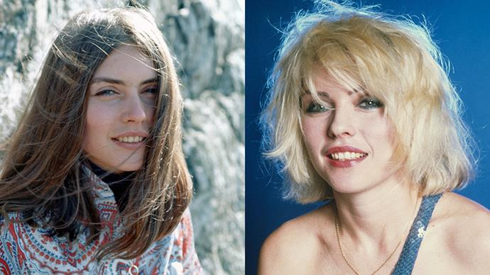 <strong>DEBBIE HARRY</strong><BR><BR> Ironically, the lead singer of Blondie isn't actually a blonde. Debbie Harry dyed her hair in the late seventies after leaving folk rock band Wind in the Willows to start the now-iconic rock band.