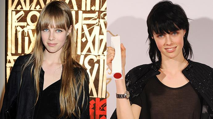 <strong>EDIE CAMPBELL</strong><BR><BR> Edie Campbell was on the model circuit for years, but it wasn't until she chopped her waist-skimming locks into a rock 'n' roll-eqsue mullet (dyed black) that she exploded onto the scene. Want proof? She took home the coveted 'Model of the Year' trophy at the British Fashion Awards in 2013, beating out favourite Cara Delevingne.