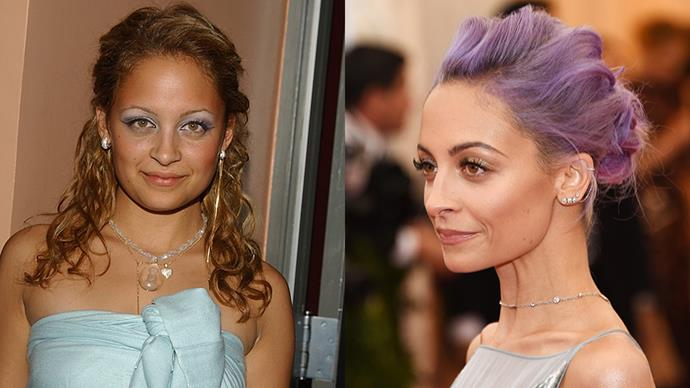 <strong>NICOLE RICHIE</strong><BR><BR> Nicole Richie's appearance at the 2014 Met Gala, with her newly dyed lavender hair and velvet Donna Karan gown, cemented her newfound 'fashion girl' status.