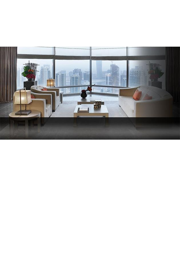 """<strong>Armani Hotel, Dubai</strong> <br><br> Located in the tallest tower in the world, the Armani Hotel Dubai brings the spirit of the fashion empire to its decor, dining and shopping experiences—with every last detail designed by Giorgio Armani himself. From the 160 guest rooms that feature walls made from handmade Italian leather to a luxe spa experience and restaurants specialising in Mediterranean, Japanese and Indian cuisines. The hotel also offers a second location in Milan, Italy. <br><br> Armani Hotel Dubai, for more information and bookings, <a href=""""http://www.virtuoso.com/hotels/6164479/armani-hotel-dubai?search=Armani%20Hotel%20Dubai&mode=Gts"""">virtuoso.com</a>"""