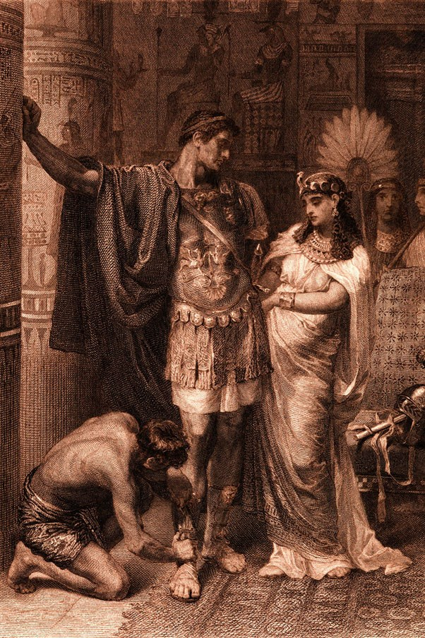 <strong>41 BC</strong> <br><br> Antony and Cleopatra