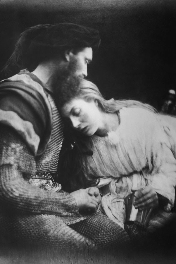 <strong>1875</strong> <br><br> Sir Lancelot and Queen Guinevere