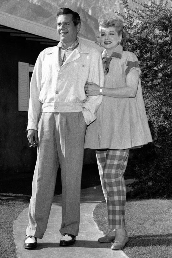 <strong>1940</strong> <br><br> Lucille Ball and Desi Arnaz