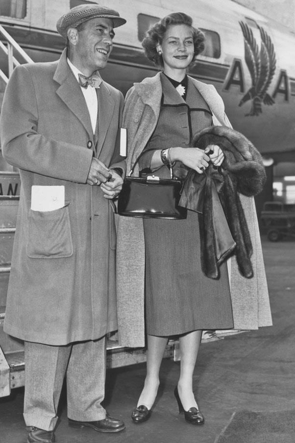 <strong>1950</strong> <br><br> Lauren Bacall and Humphrey Bogart